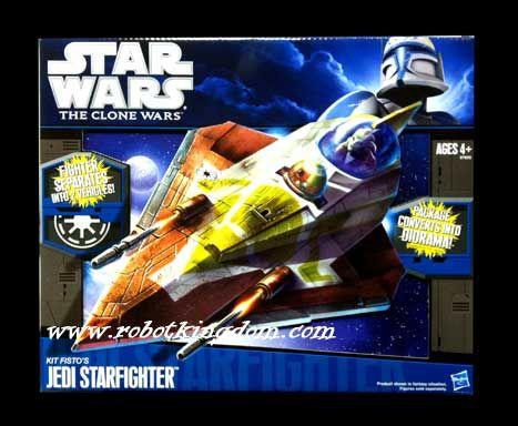Hasbro Star Wars 2010 Vehicles Kit Fisto's Jedi Starfighter.