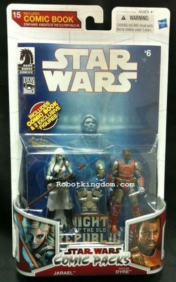 Hasbro Star Wars 2010 Comic Two-Packs Exclusive - Jarael & Rohlan Dyre.