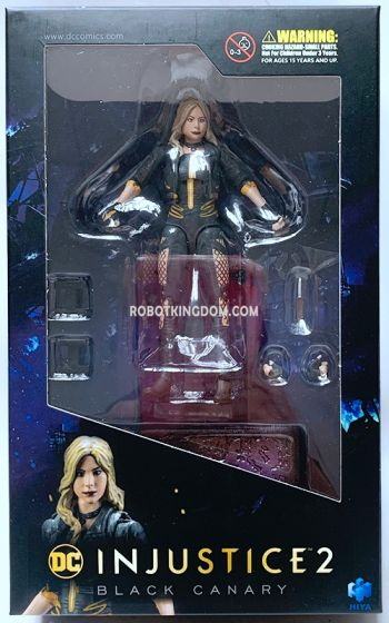 Hiya Toys LD0042 INJUSTICE 2 Black Canary. Available Now!