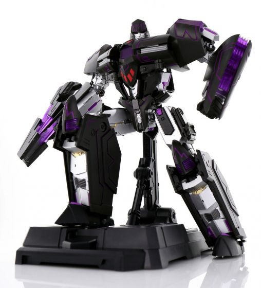 Generation Toy GT-02 ReTyrant (**Clear Black Version**)  with Fire Effect Bonus parts. Preorder. Available in June 2021.