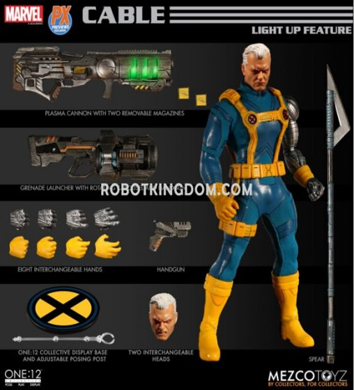 MEZCO TOYZ One:12 Collective Cable PX Previews Exclusive. Preorder. Available in 2nd Quarter 2020.