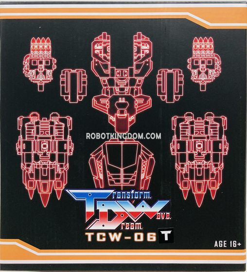 Transform Dream Wave TCW-06T Upgrade Kit. Available Now!