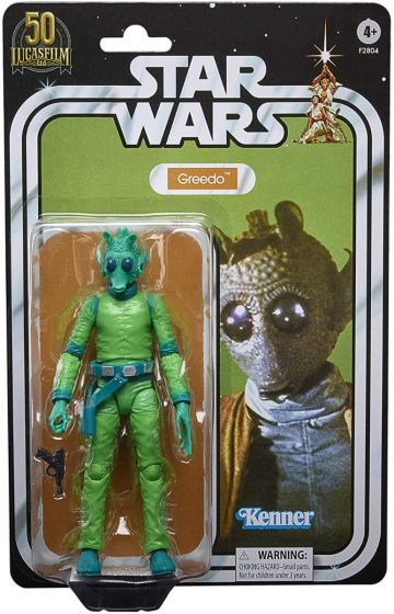 """STAR WARS The Black Series 6"""" Lucasfilm 50th Anniversary Original Trilogy Collectible Greedo. Available Now!"""