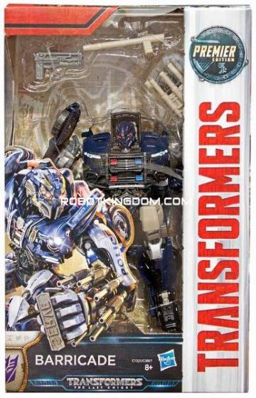 Transformers Movie 5 - The Last Knight Premier Deluxe Barricade. Available Now!