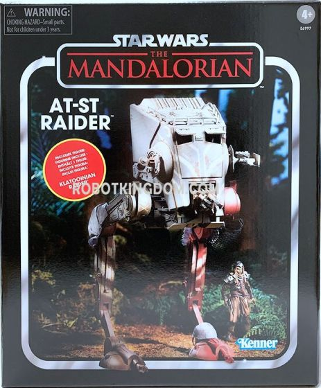 Star Wars Vintage Collection The Mandolorian AT-ST Raider. Available Now!