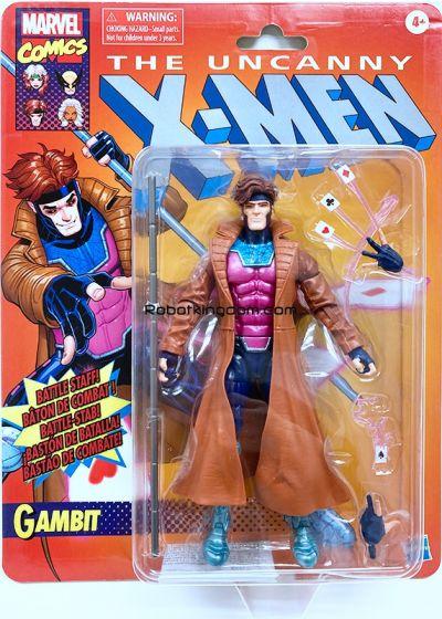 "Hasbro Marvel Legends 6"" X-Men Gambit. Available Now!"