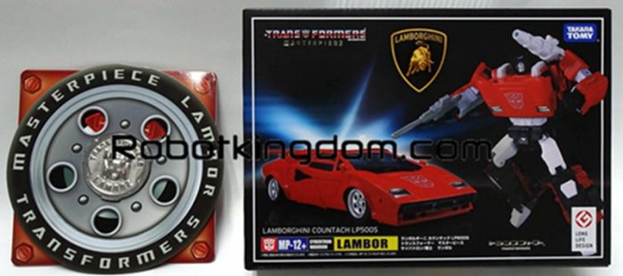 Takara Transformers Masterpiece Takara MP-12+ Masterpiece Sideswipe / Lambor. Available Now!