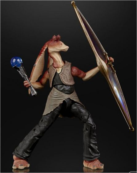 "Star Wars Black Series 6"" Deluxe Jar Jar Binks. Preorder. Available in Mar 2021."