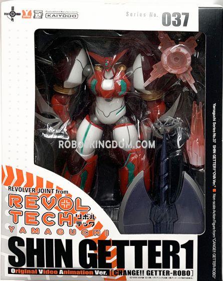 Kaiyodo Revoltech Series No. 037 - Shin Getter1.
