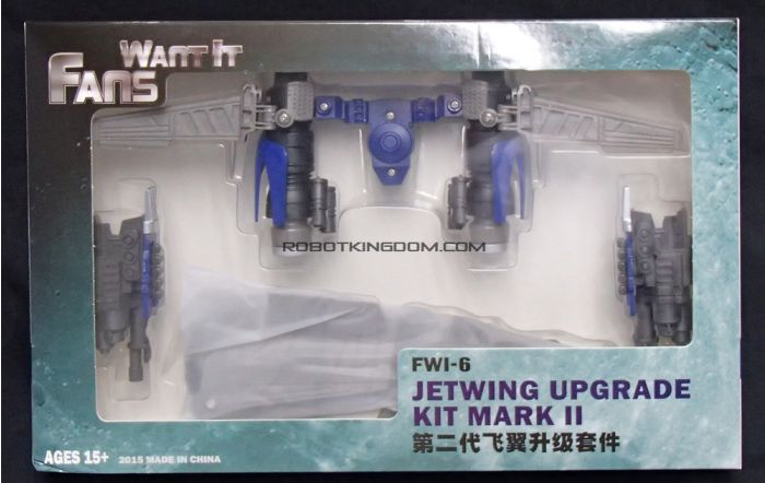 Fans Want It FWI-6 Jetwing Upgrade Kit Mark II (for TF4,MB 01 evasion Optimus Prime). Preorder. Restock in April 2019.