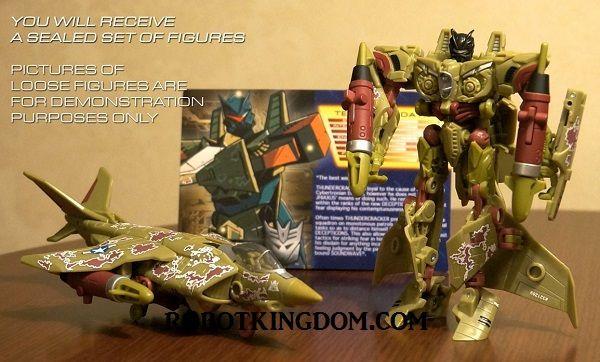 Transformers Botcon 2013 - Mirage & Thundercracker. MISB