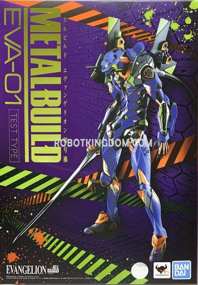 Bandai Metal Build EVA-01 TEST TYPE. Available Now!