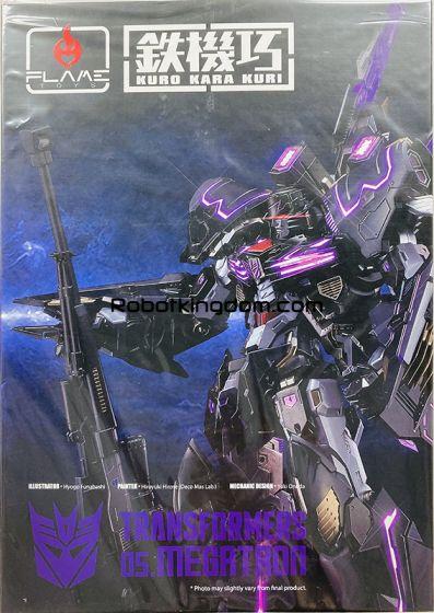 Flame Toys [Kuro Kara Kuri] Megatron. Available Now!