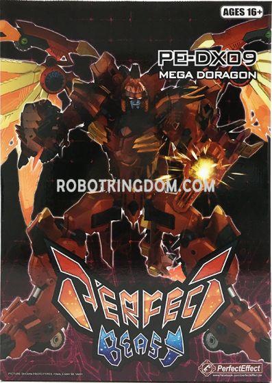Perfect Effect PE-DX09 Mega Doragon Reissue. Available Now!