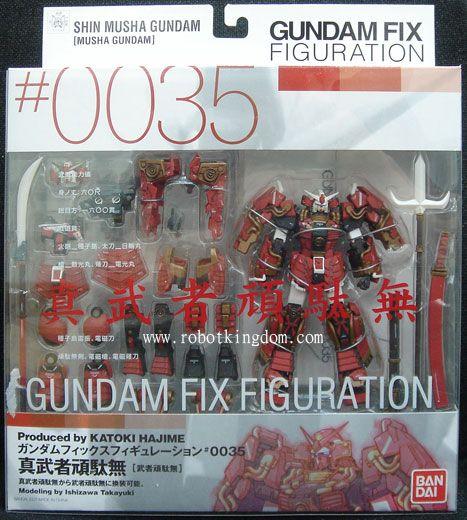 Bandai FIX 0035 Shin Musha Gundam