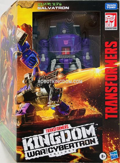 HASBRO TRANSFORMERS GENERATIONS WAR FOR CYBERTRON KINGDOM LEADER CLASS GALVATRON. Available Now!