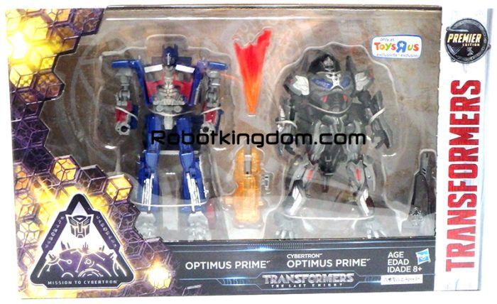 TRU Exclusive Transformers Movie 5 The Last Knight - OPTIMUS PRIME & CYBERTRON OPTIMUS PRIME. Start Shipping Next week!