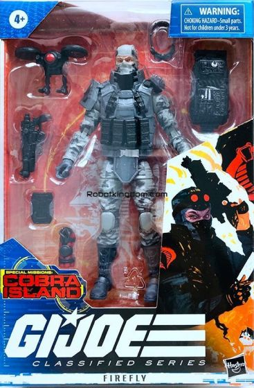 """G.I. Joe Classified Series 6"""" Firefly. Available Now!"""