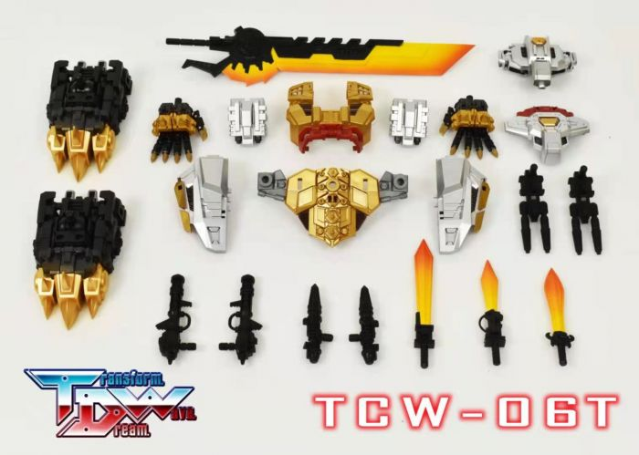 Transform Dream Wave TCW-06T Upgrade Kit. Preorder. Available in July 2021.
