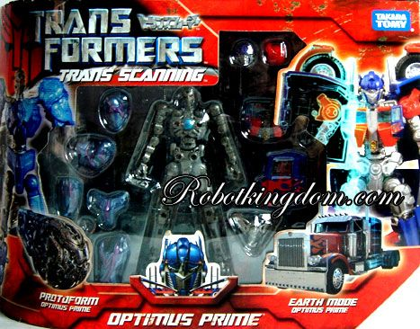Takara Transformers Movie Trans-Scanning Optimus Prime TS-01 Available Now!
