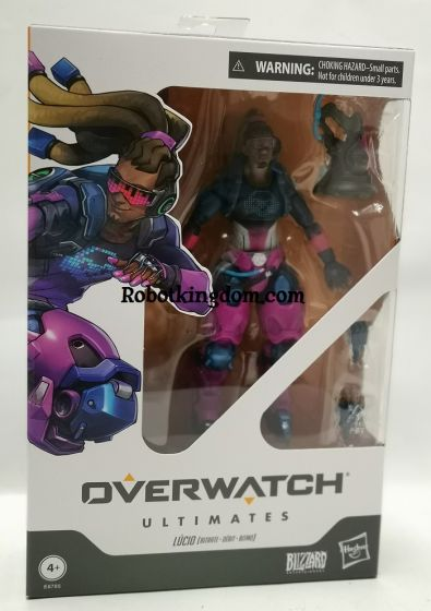 Overwatch Ultimates Core Figure LUCIO. Available NOW!