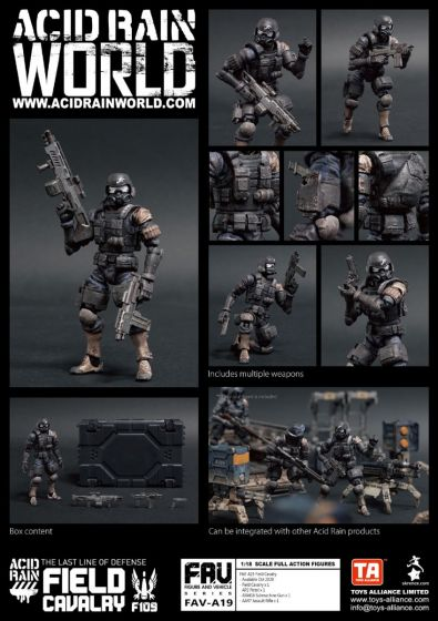 Acid Rain FAV-A19 Field Cavalry. Preorder. Available in End of October 2020.