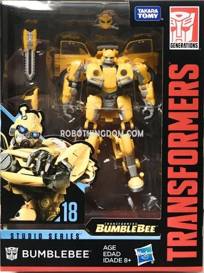 Transformers Studio Series 18 Deluxe Bumblebee. Available Now!