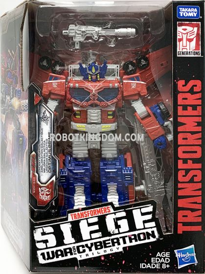 Generations 2019 Siege of cybertron Leader Wave 2 OPTIMUS PRIME (GALAXY UPGRADE). Available Now!