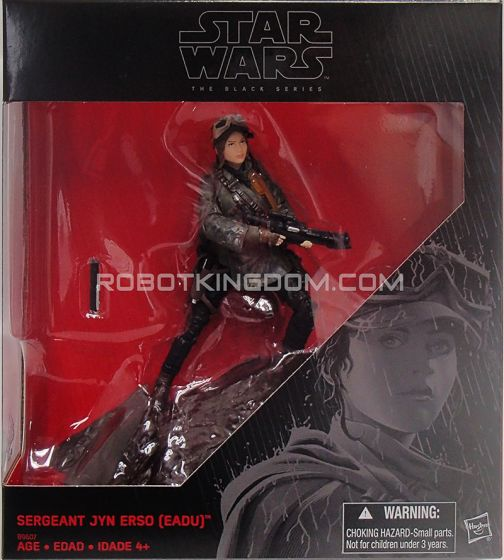 "Star Wars Kmart Exclusive Rogue One - A Star Wars Story Black Series 6"" Sergeant Jyn Erso(Eadu). Available Now!"
