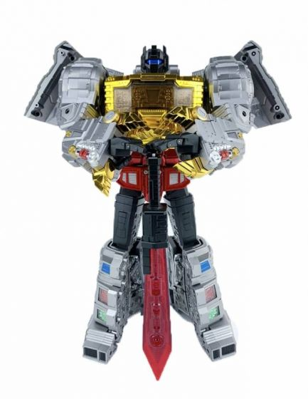 GigaPower Gigasaurs HQ-01R Superator Chrome Version. Preorder. Available in 3rd Quarter 2021.