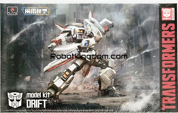Flame Toys [Furai Model] Drift Model Kit. Available Now!