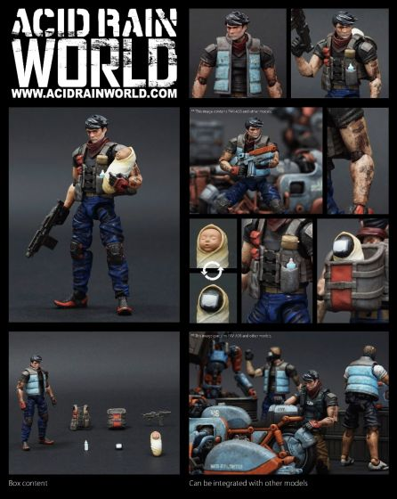 Acid Rain World FAV-A38 Kaleb. Preorder. Available in End of August 2021.