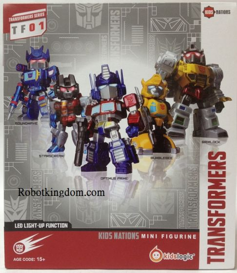 Kids Logic Transformers Kids Nation Series TF-01 Five Pack. Available Now!