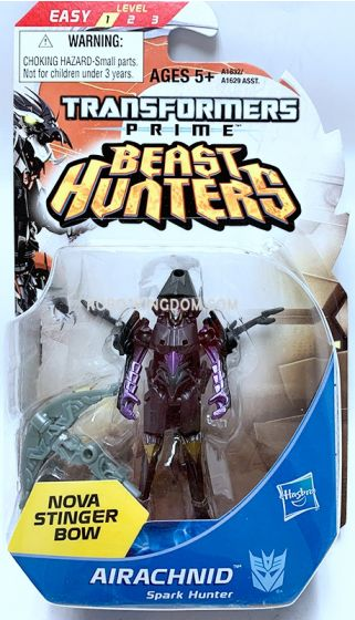 Hasbro TF Prime Beast Hunters Cyberverse Legion AIRACHNID. Available Now!
