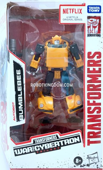 Exclusives Transformers Netflix Siege of Cybertron Deluxe Bumblebee. Available Now!