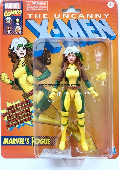 "Hasbro Marvel Legends 6"" X-Men Retro Rogue. Available Now!"