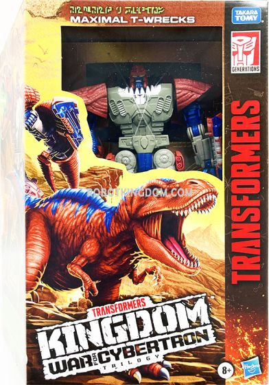 Transformers Kingdom War for Cybertron Trilogy LEADER Maximal T-Wrecks. Available Now!