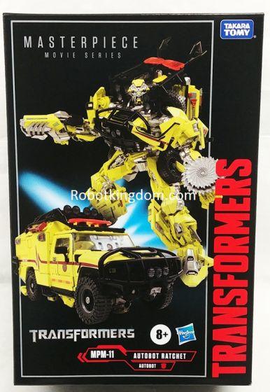Hasbro/Takara Transformer Movie Masterpiece Series MPM-11 Ratchet. Available Now!
