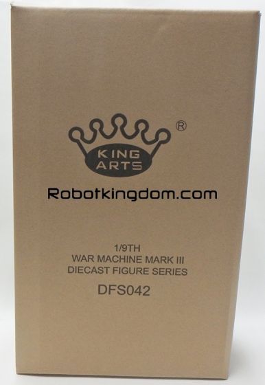 King Arts - 1/9 Diecast Figure Series -DFS042- Iron Man Mark 3 War Machine. Available Now!