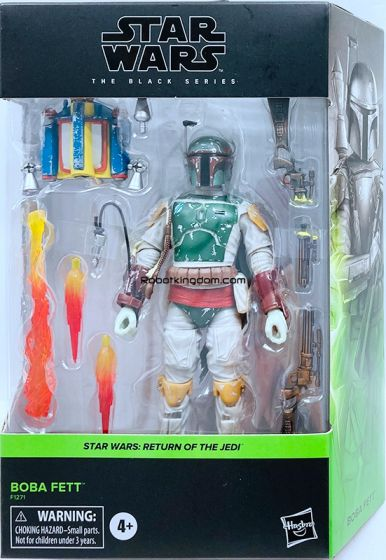 "Star Wars Black Series 6"" Deluxe Boba Fett. Available Now!"