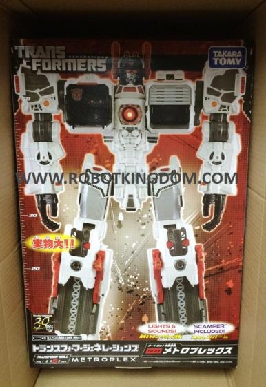 Transformers Fall of Cybertron TG-23 Metroplex. Available Now!!