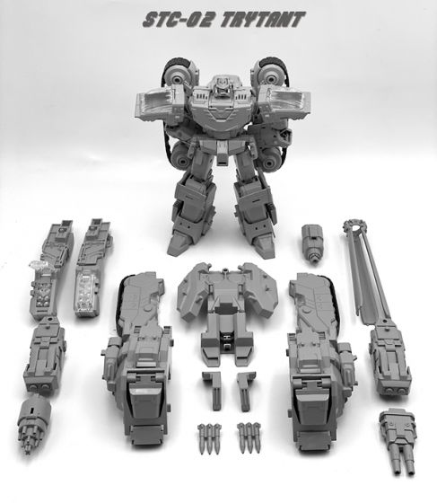TFC TOYS STC-02 Supreme Techtial Commander Trytant. Preorder. Available in 3rd Quarter2021.