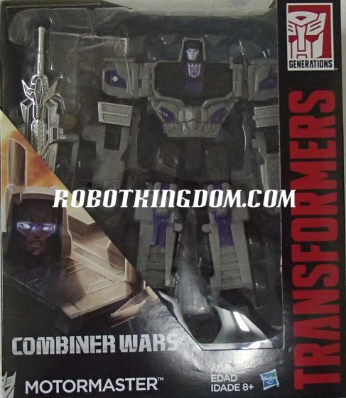 Hasbro Transformers Generations 2015 Voyager Motomaster. Available Now!