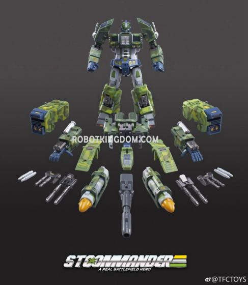 TFC TOYS STC-01B Supreme Techtial Commander ( Jungle ver.).  restock Feb2020