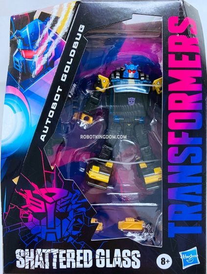 Transformers Generations Shattered Glass Collection Autobot Goldbug. Available Now!