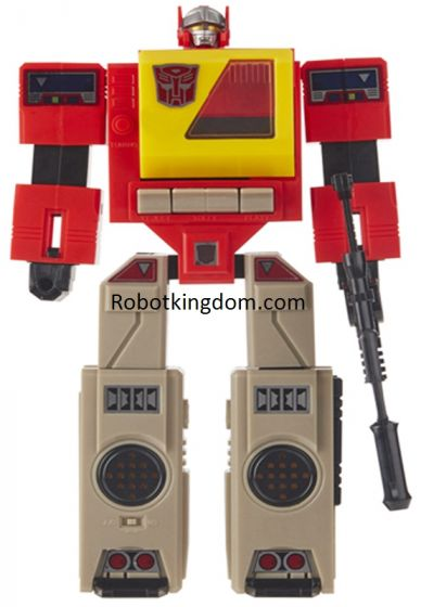 Exclusives Transformers G1 Reissue Blaster. Available Now.