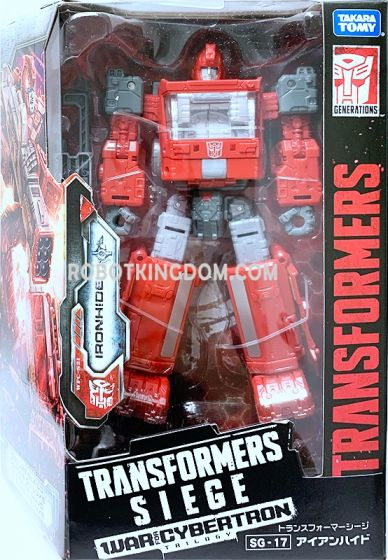Takara Transformers Siege SG-17 Ironhide. Available Now!