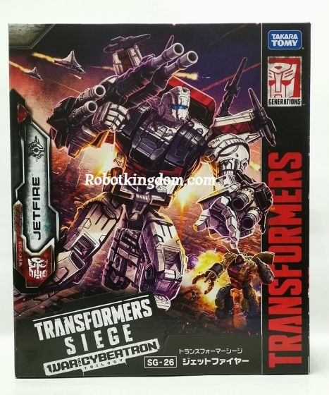 Takara Transformers Siege SG-26 Jetfire. Available NOW!