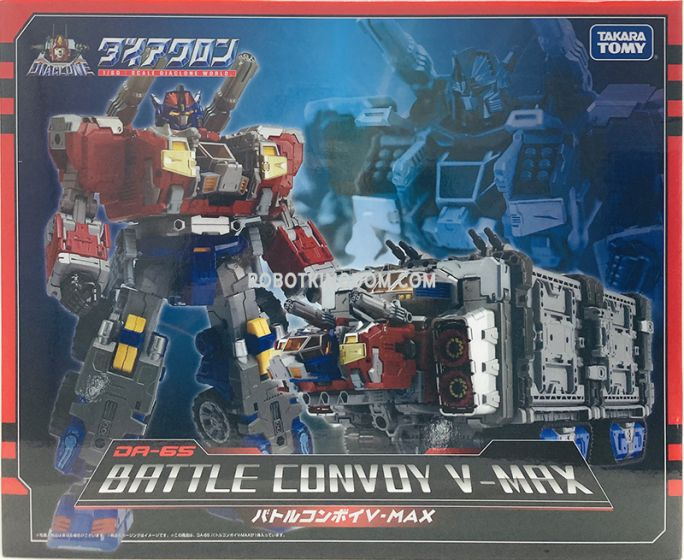 Takaratomy DIACLONE DA-65 BATTLE CONVOY V-MAX. Available Now!