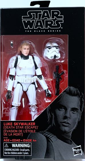 Star Wars  E4 BL STORMTROOPER LUKE - DEATH STAR ESCAPE. Preorder. Available in next week.
